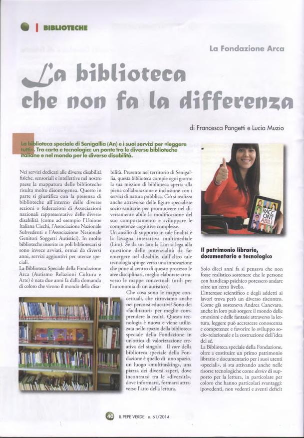 La biblioteca che non fa la differenza
